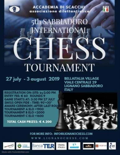 International Chess Festival - Lignano Sabbiadoro