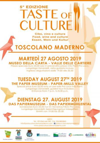 Taste Of Culture - Toscolano-maderno