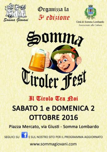 Somma Tiroler Fest - Somma Lombardo