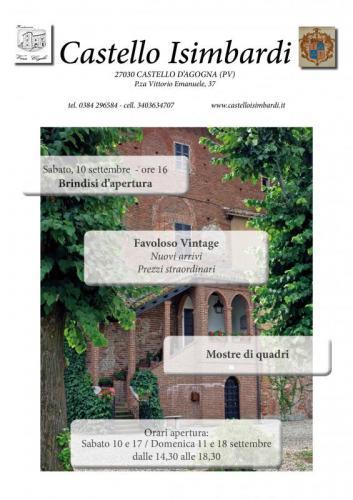 Settembre a castello isimbardi castello d 39 agogna pv 2016 - Mercatini usato pavia ...