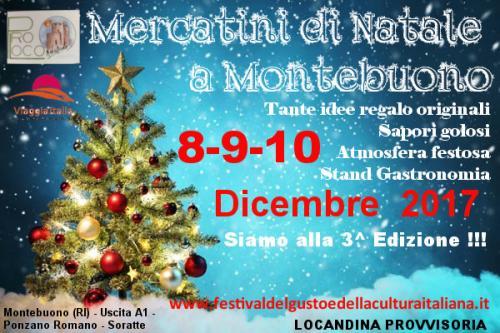Mercatini Di Natale - Montebuono