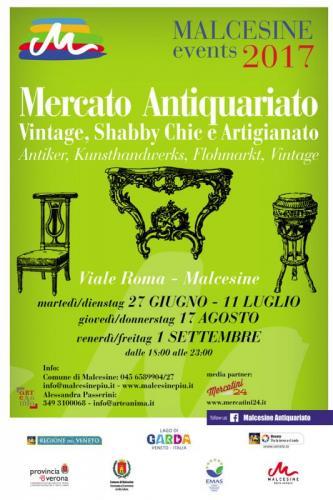 Malcesine antiques malcesine vr 2017 veneto eventi e - Mercatini vintage veneto ...