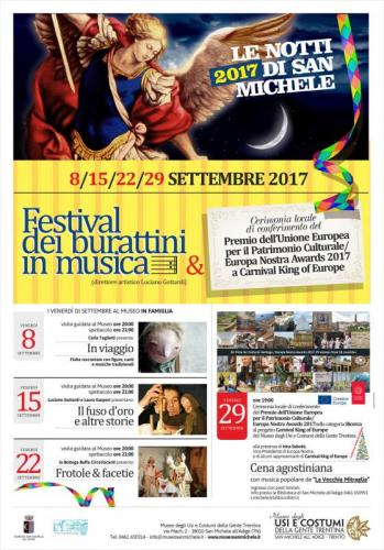 Festival Dei Burattini In Musica  - San Michele All'adige