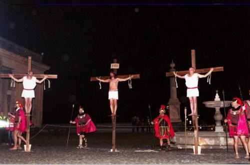 Via Crucis Passione Di Gesu' Cristo A Ariccia - Ariccia