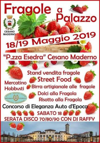 Fragole A Palazzo A Cesano Maderno - Cesano Maderno