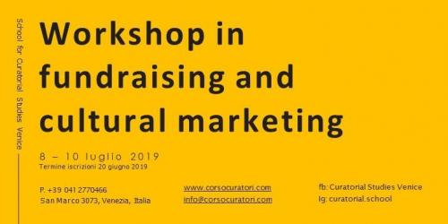 Workshop In Fundraising And Cultural Marketing - Venezia