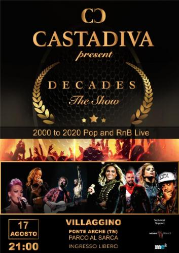 Castadiva Decades - The Show - Comano Terme
