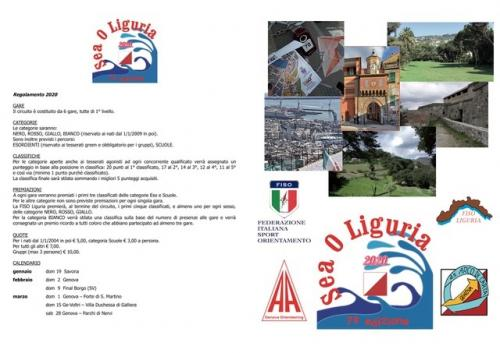 Orienteering In Liguria -