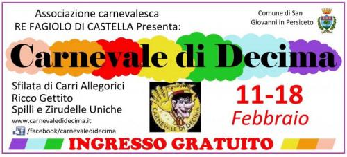 Carnevale Di Decima - San Giovanni In Persiceto
