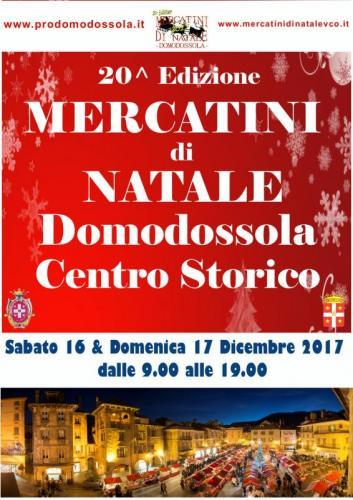 Mercatini di natale domodossola vb 2017 piemonte - Mercatini piemonte oggi ...