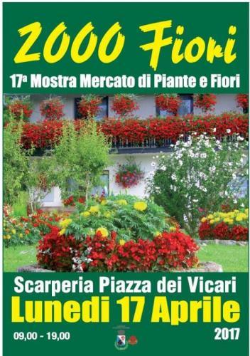 2000 fiori a scarperia scarperia fi 2017 toscana for Mostre mercato fiori 2017