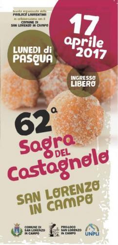Sagra del castagnolo san lorenzo in campo pu 2017 for Eventi marche 2017