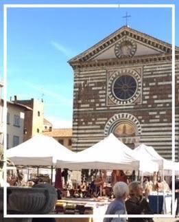 Collezionare in piazza a prato 2019 po toscana for Piazza san francesco prato