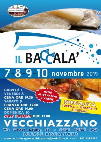 Sagra Del Baccalà A Vecchiazzano - Forlì